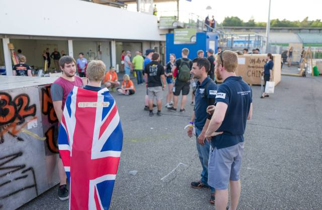 Packing up! © Formula Student Germany