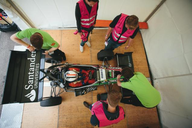 Scrutineering is tough, © Formula Student Germany