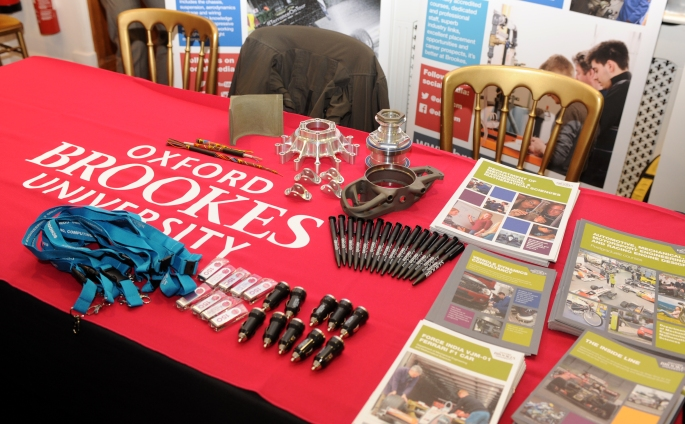 Oxford Brookes stand